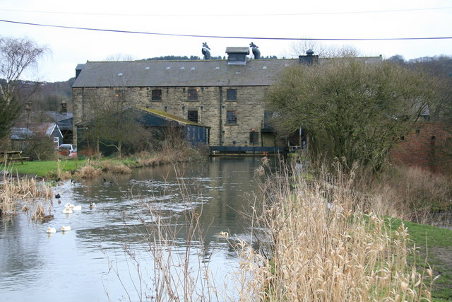 Caudwell's Mill, Rowsley - geograph.org.uk - 347424