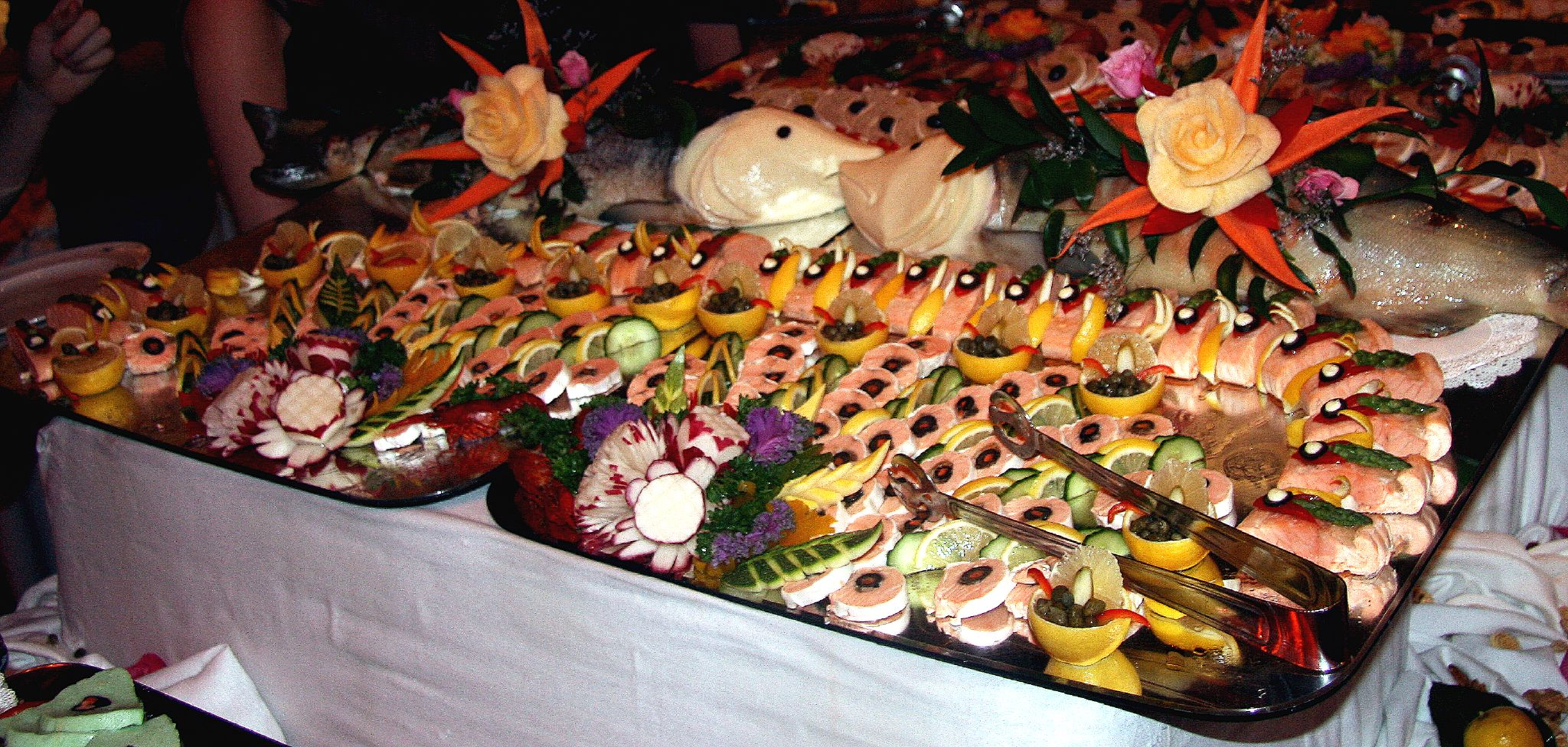 Xmas Party Food Idad