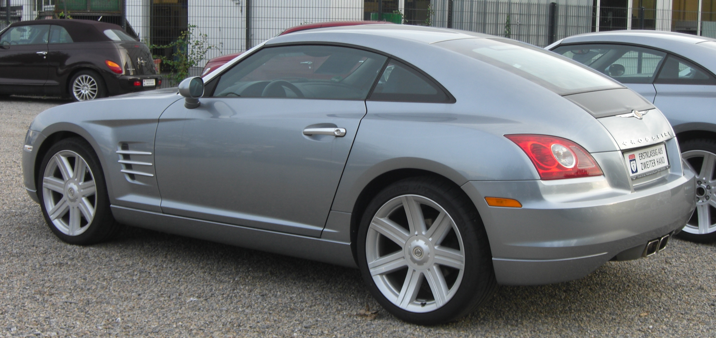 File:Chrysler Crossfire rear.jpg - Wikimedia Commons