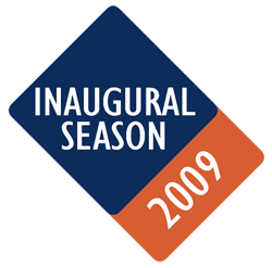 Patch worn on the left sleeve during home games the 2009 season.
