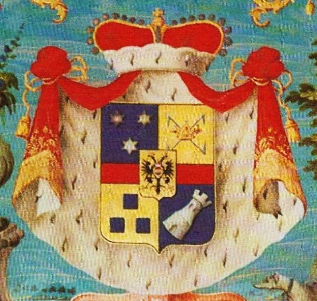 File:Clary und Aldringen Fuerst Wappen Prince coat of arms.jpg