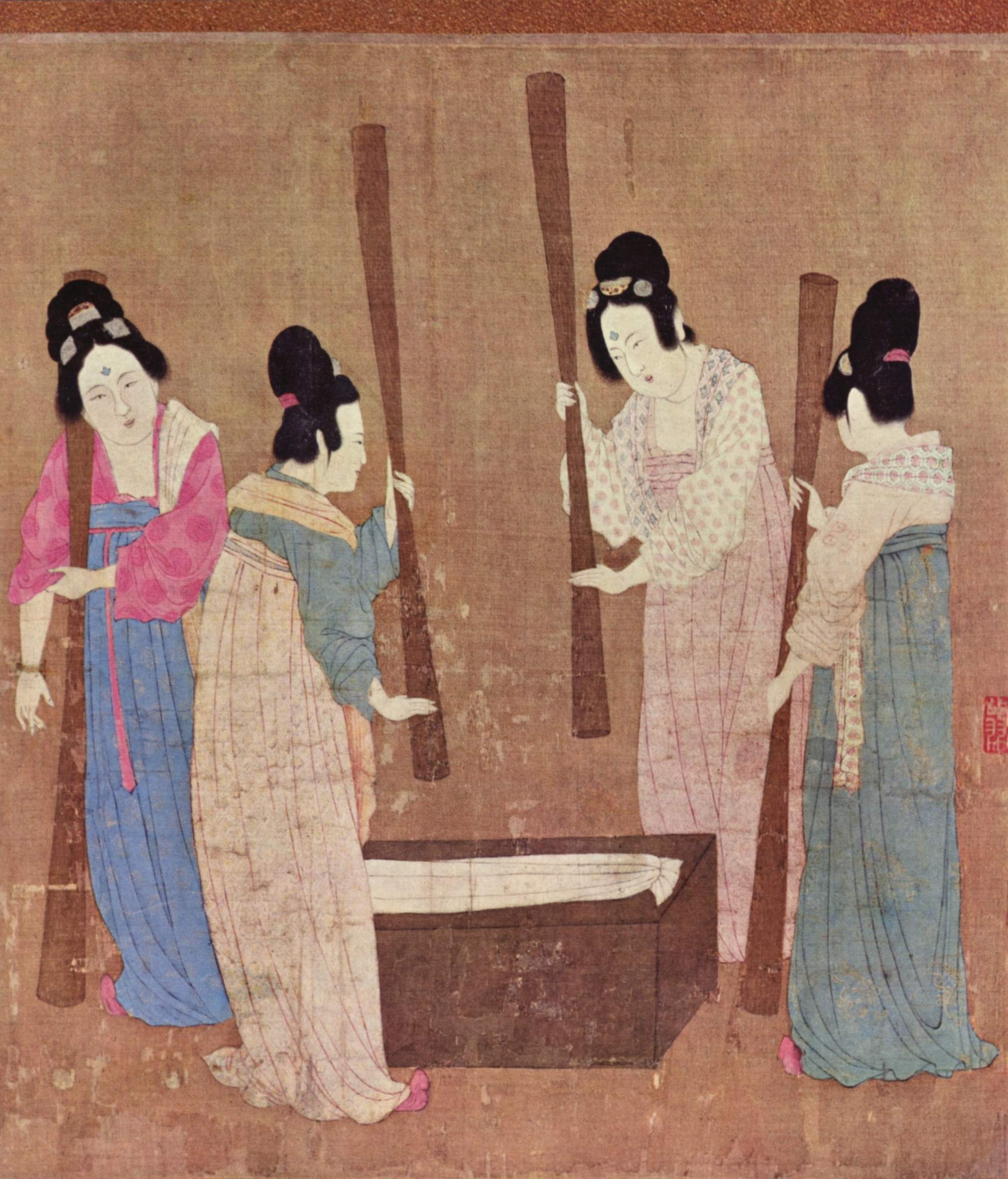 Image result for ancient china silk