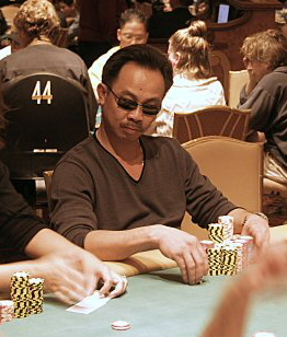 David Pham at the 2004 World Poker Tour 's Fes...