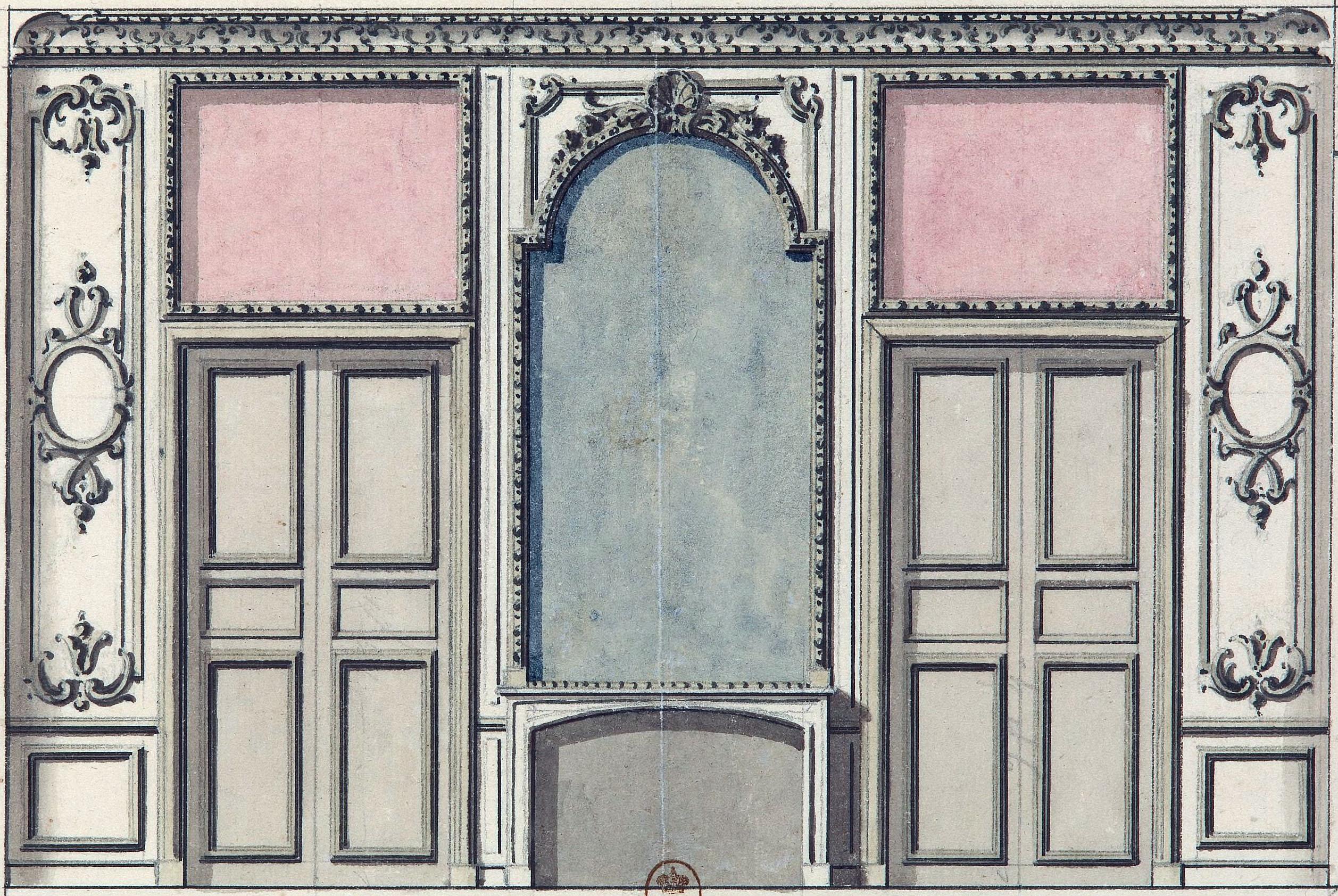 Design Bonn file design for an antechamber in the bonn palace of buen retiro