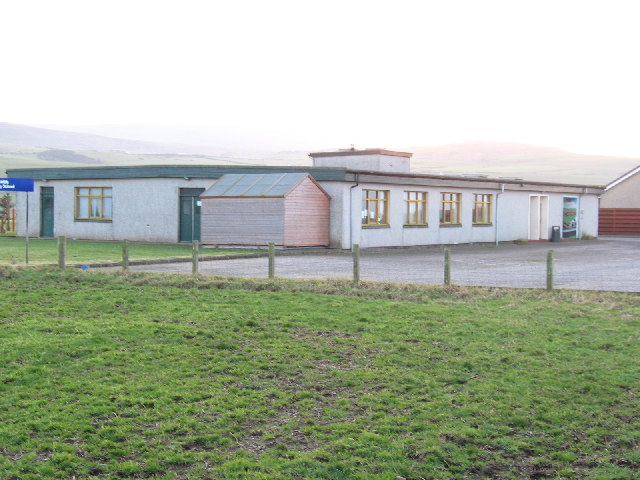 Drumlemble Primary School on the B843. - geograph.org.uk - 117281