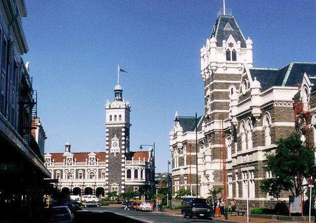 Penembakan Selandia Baru Wikipedia: File:Dunedin Station And Courts.jpg