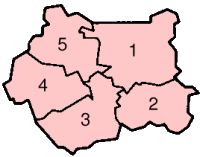 Location of West Yorkshire