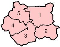 Metropolitan Boroughs in West Yorkshire