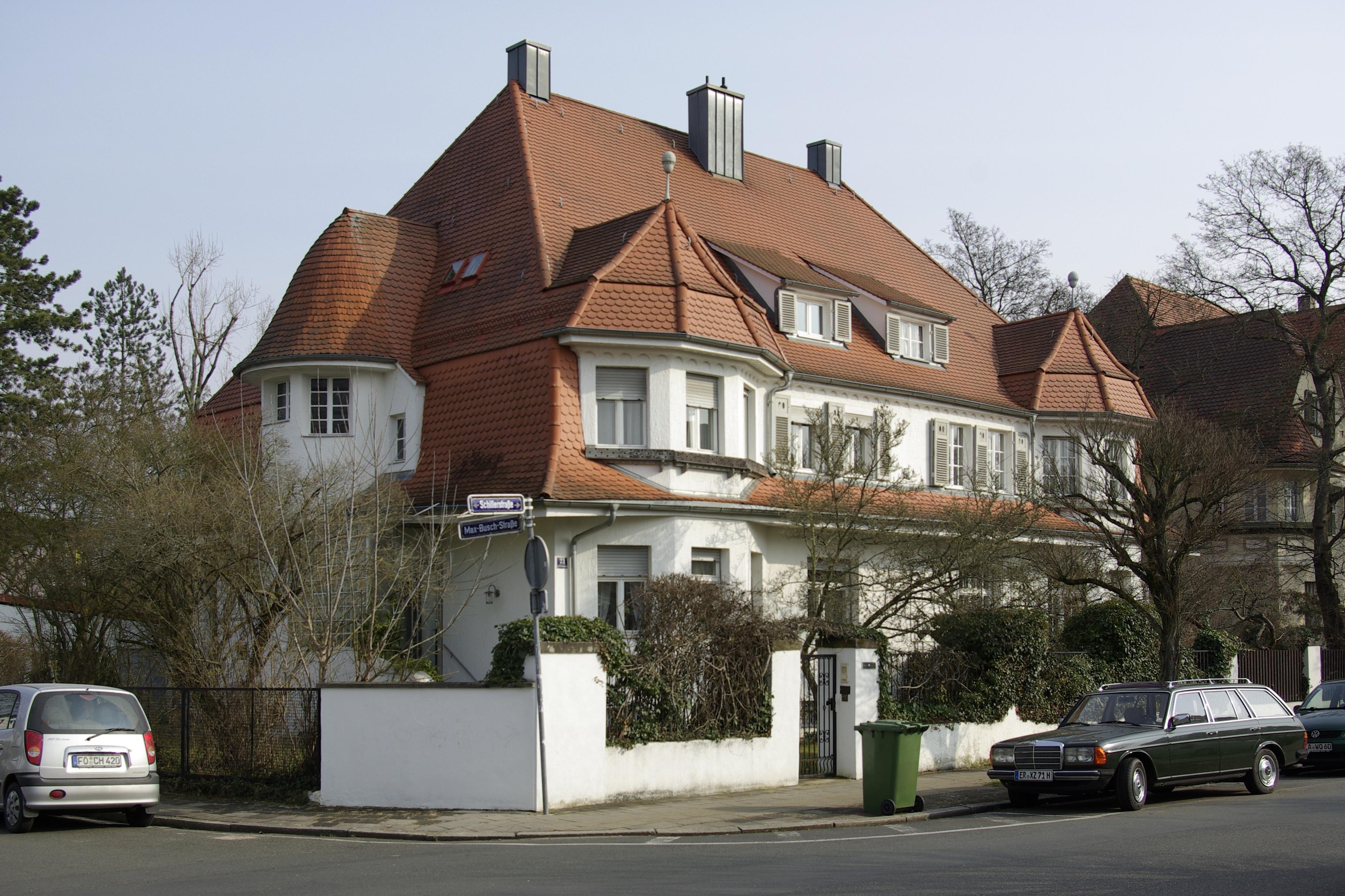 Schillerstraße Erlangen