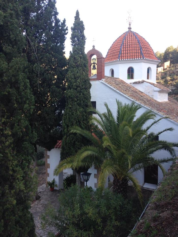 ermita de la virgen del pilar  ludiente