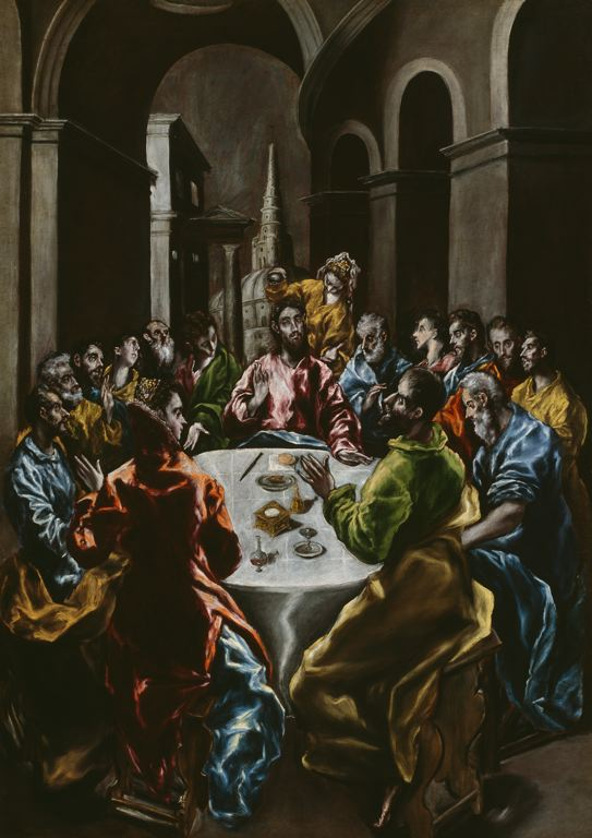 File:Feast in the House of Simon, 1608-14 El Greco.jpg - Wikimedia Commons