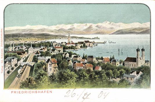 Felle Friedrichshafen Ortsansicht