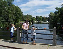 Fishing Watsons Mill Dam