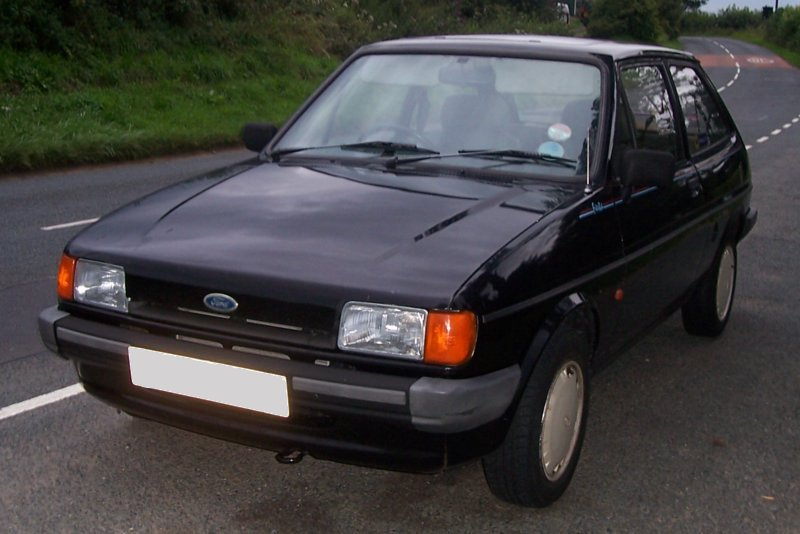 1987 Ford Fiesta