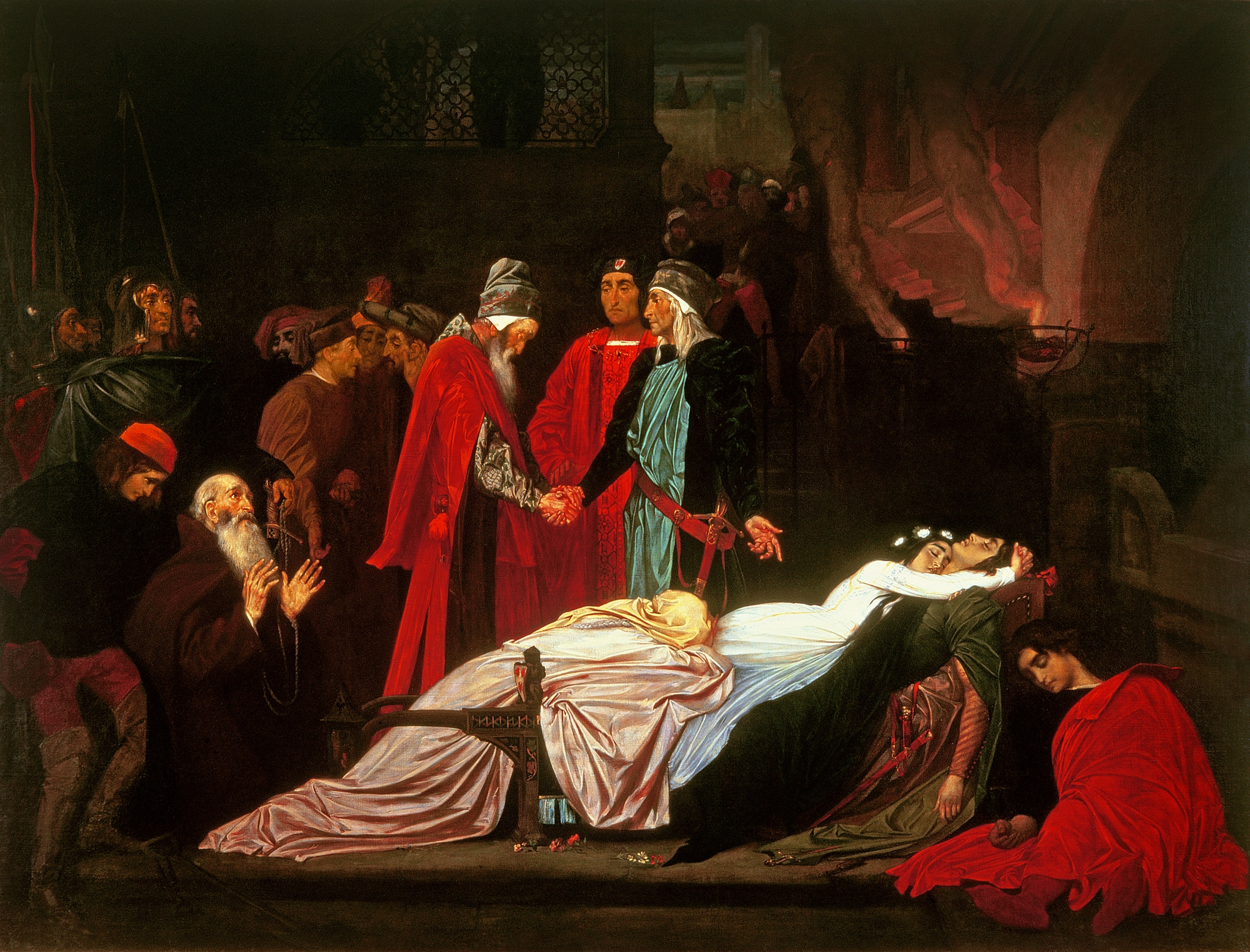 file frederic leighton the reconciliation of the montagues and file frederic leighton the reconciliation of the montagues and the capulets over the dead