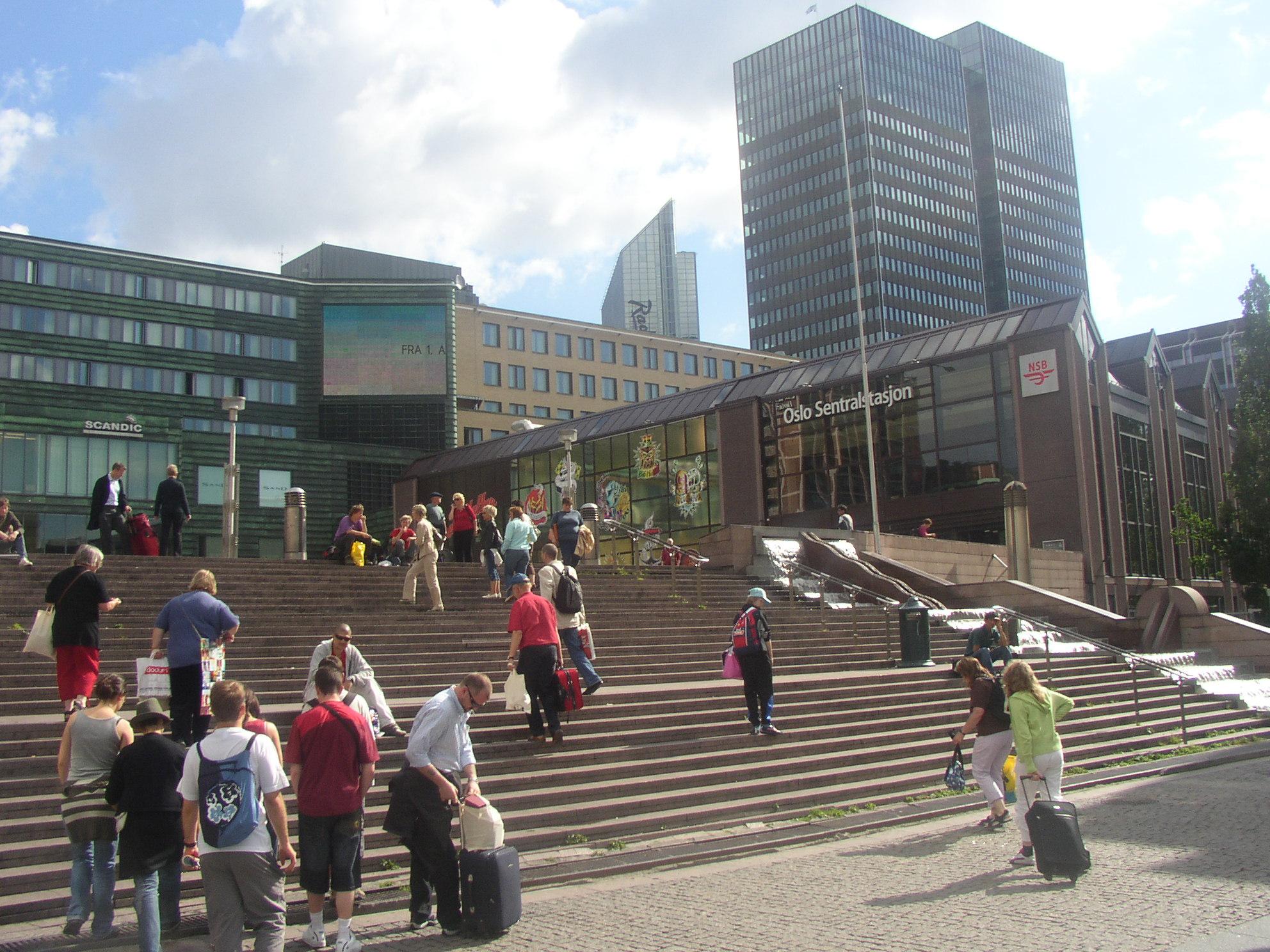 Oslo Sentralstasjon Oslo File Gare Oslo Sentralstasjon