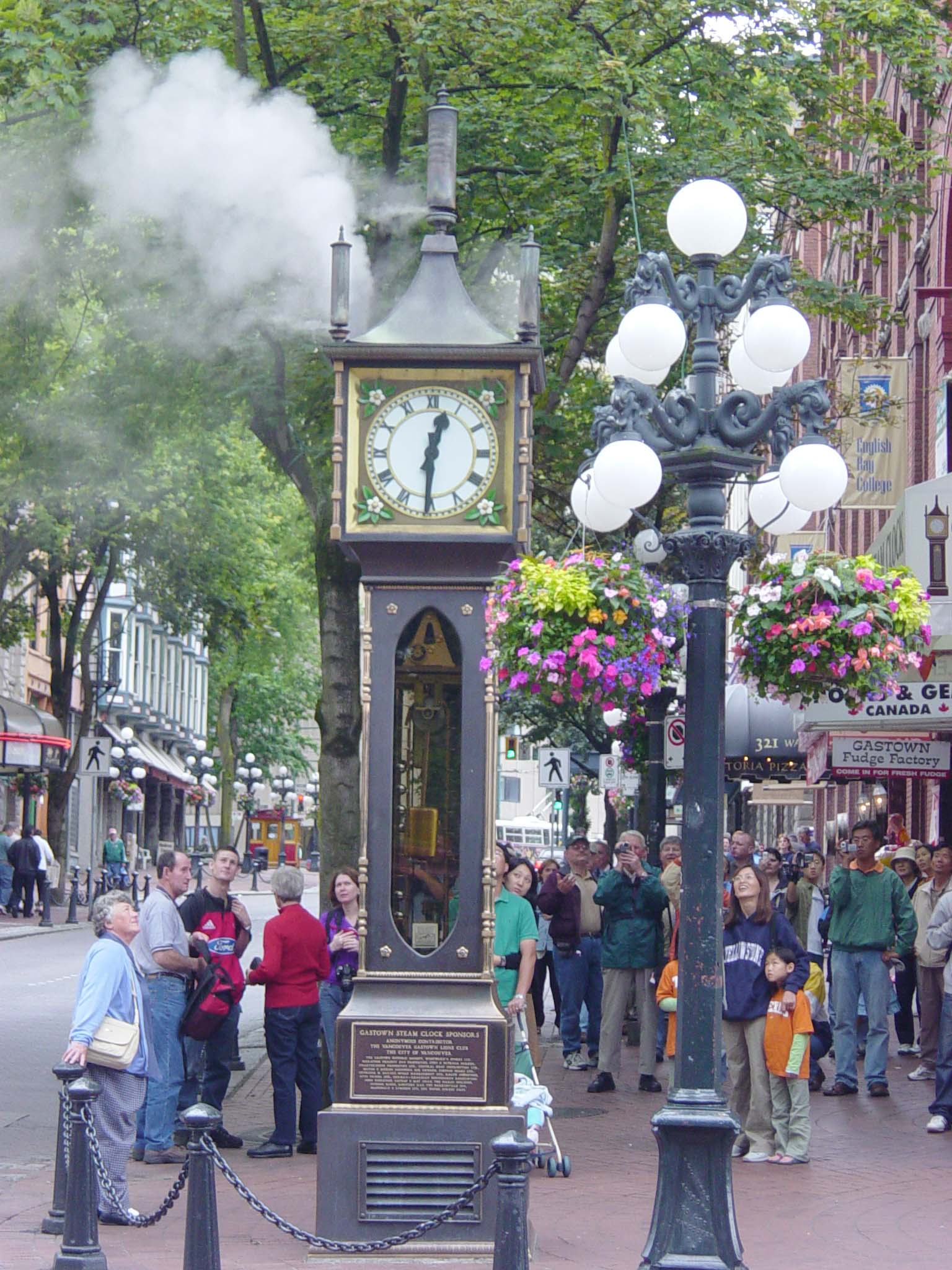 Image result for Steam Clock, Gastown