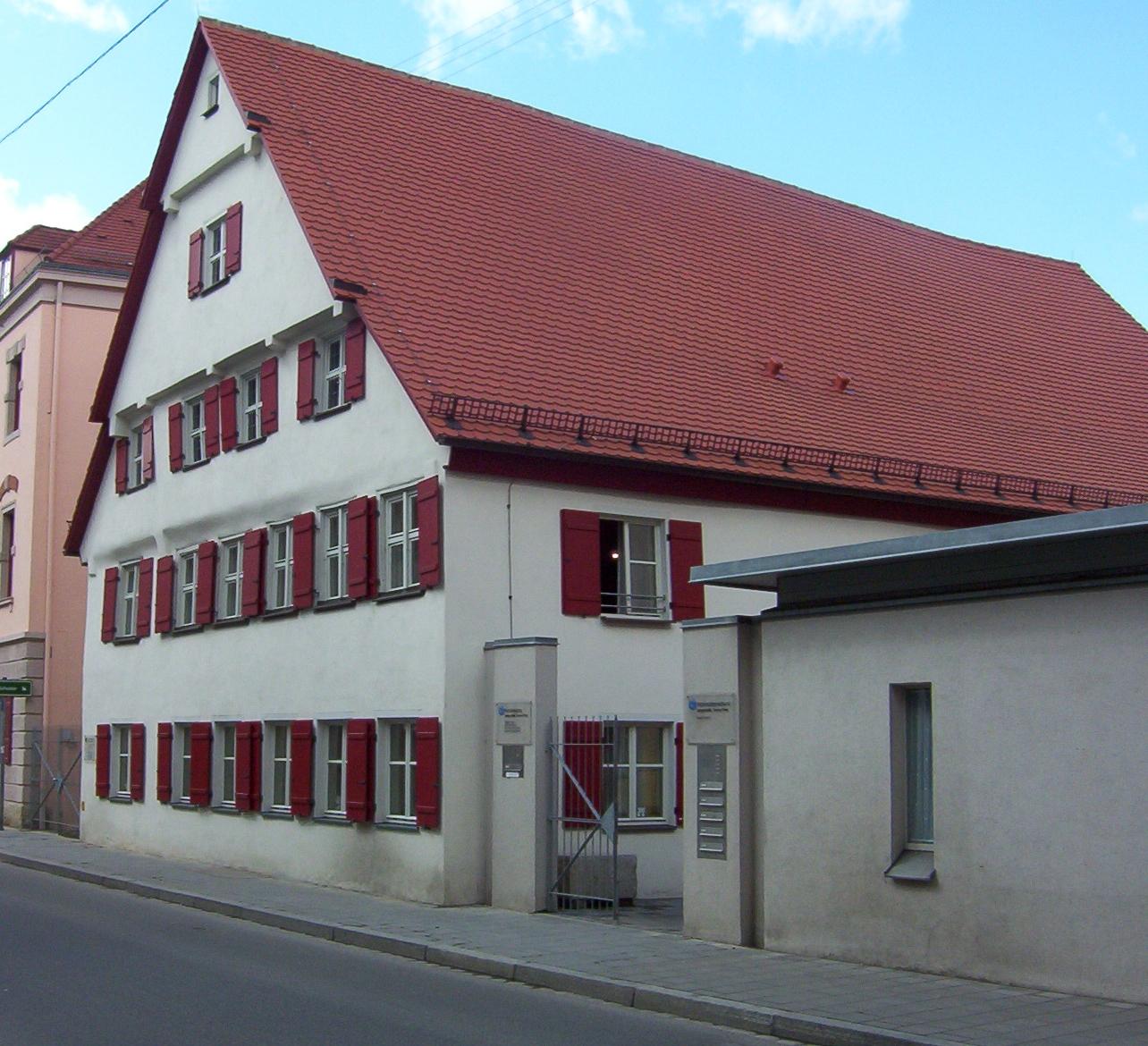 Gerd Müllers Geburtshaus