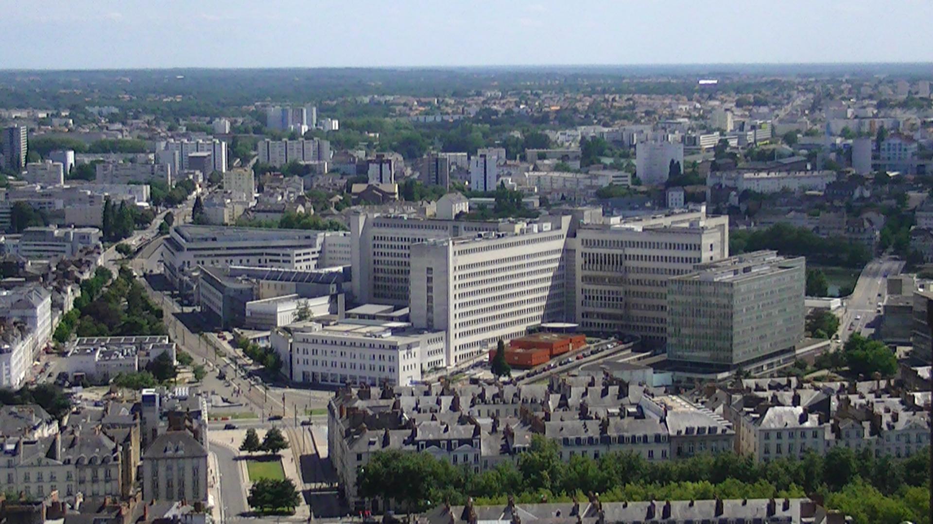Hotel Dieu Nantes Parking