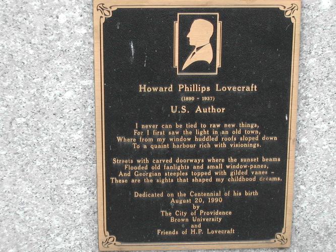 A closeup of memorial plaque, built in honor o...