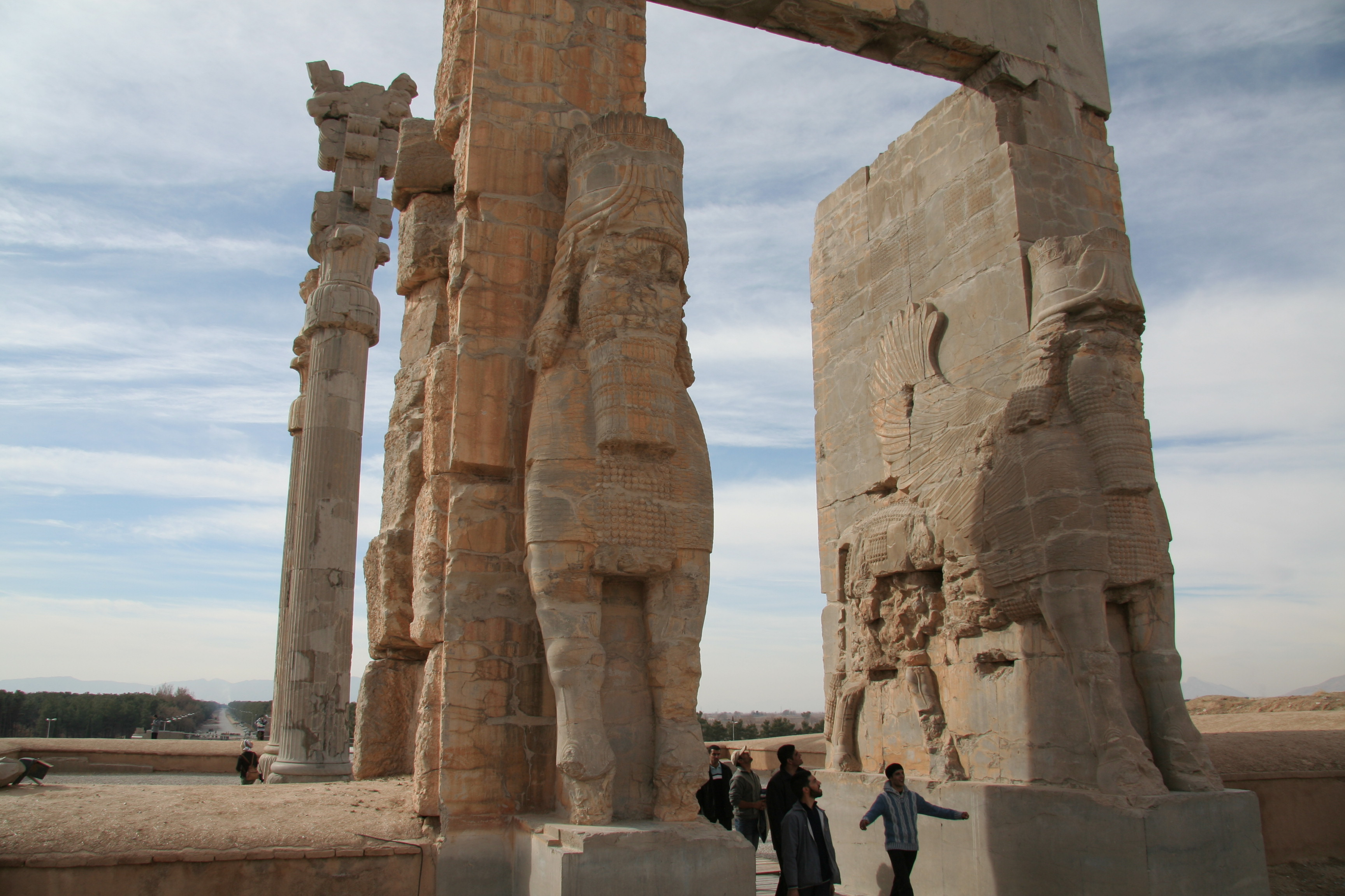 Gates of All Nations in Persepolis