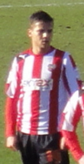 Harry Forrester, Brentford FC, January 2013.jpg