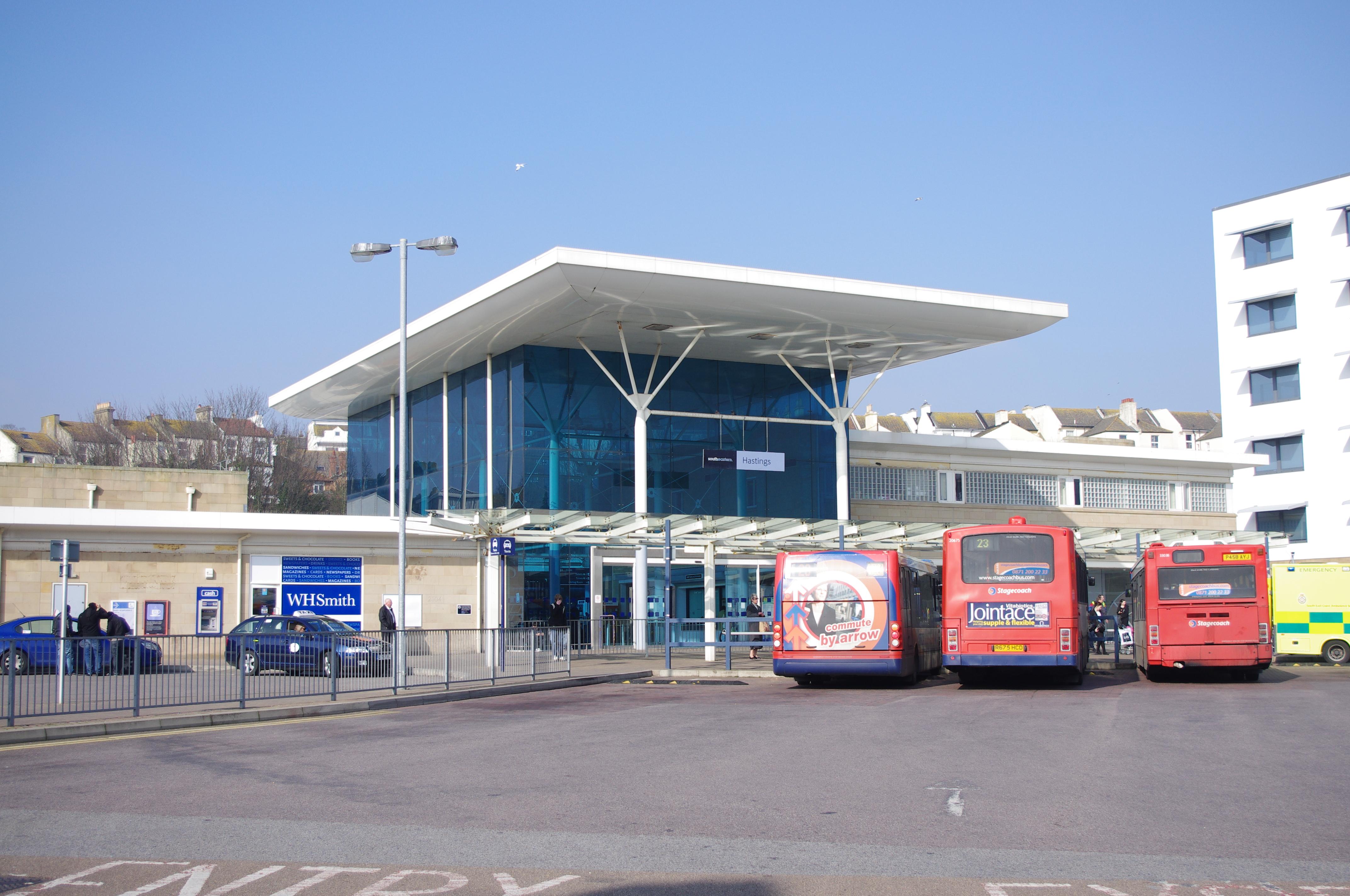 Hastings Station Car Park