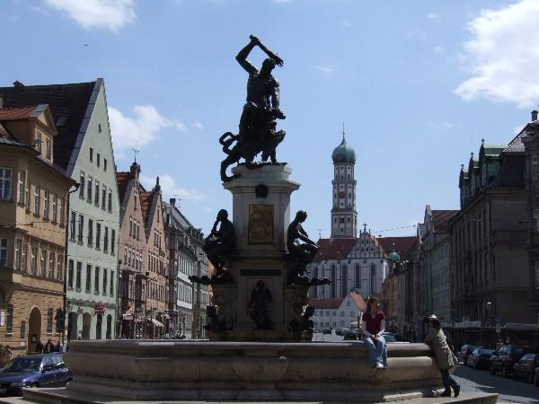 Herkulesbrunnen Augsburg