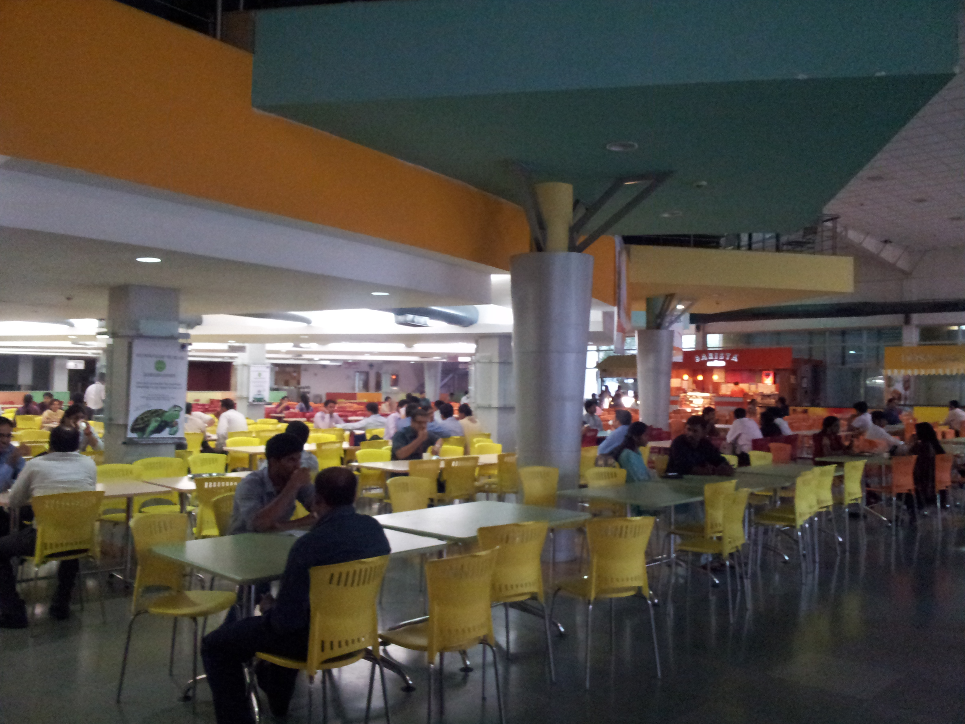 File inside center court cafeteria wipro sarjapur office photo - Office photo ...