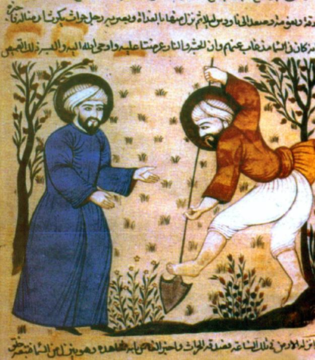 Agricultural Work, Spain circa 1200