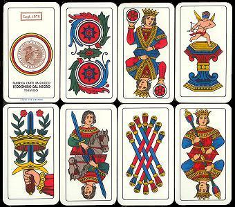 English: Italian Playing Cards