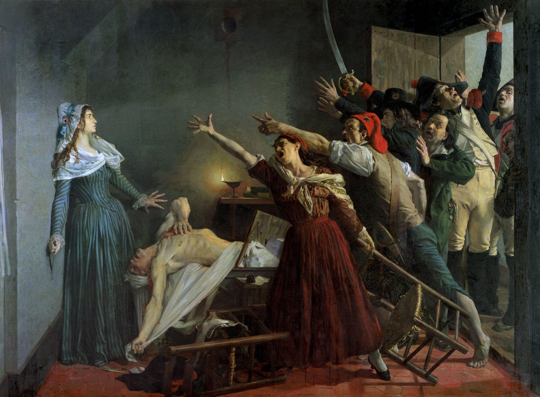 Fichier:J. J. Weerts L'assassinio di Marat.jpg — Wikipédia
