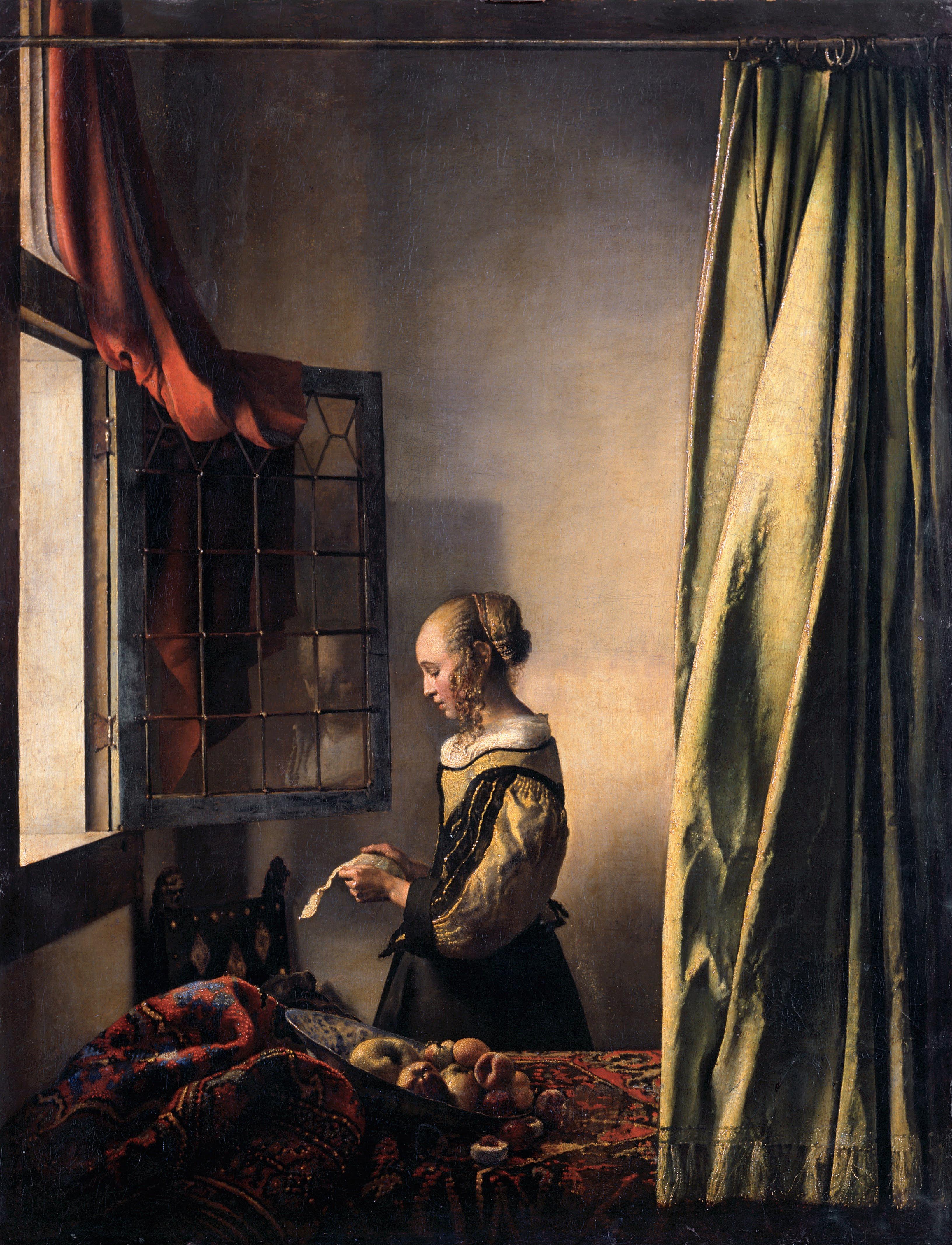 Risultato immagini per vermeer donna lettera