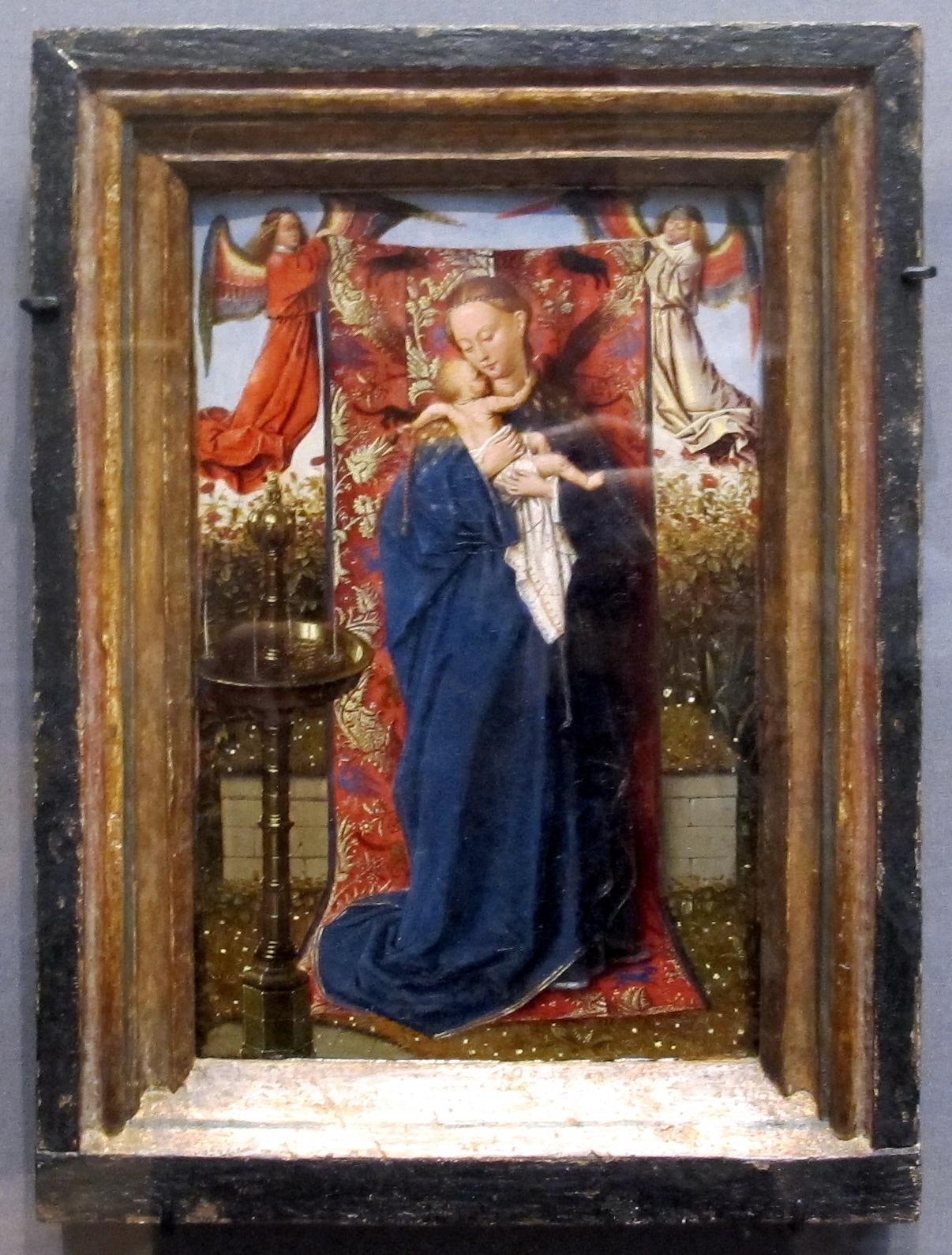 Spiksplinternieuw File:Jan van eyck (bottega), madonna della fontana, 1440 ca..JPG JQ-91
