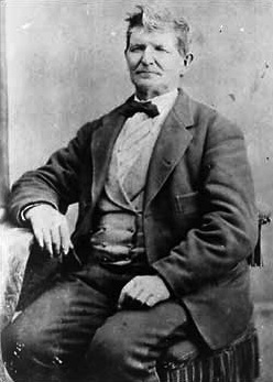 John D. Lee, date and photographer unknown. He established a permanent ferry across the Colorado. John D. Lee.jpg
