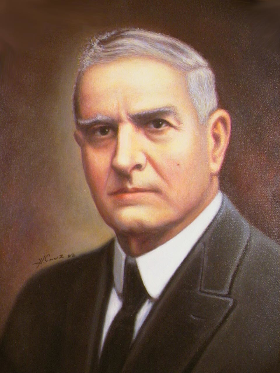 Juan Bautista Quirós Segura, Presidente 23° de C.R., 1919. | Mi Costa Rica  de Antaño