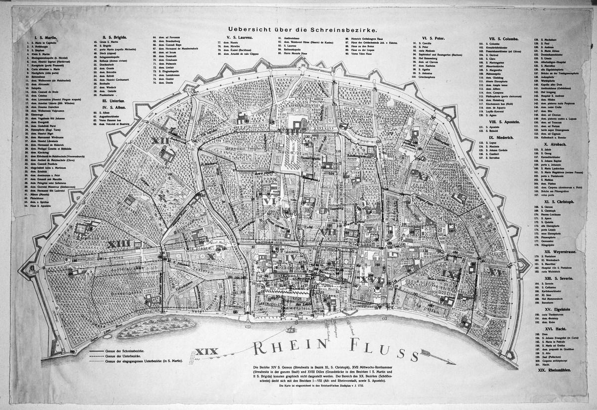 Kolner Stadtplan Von 1752 Wikipedia