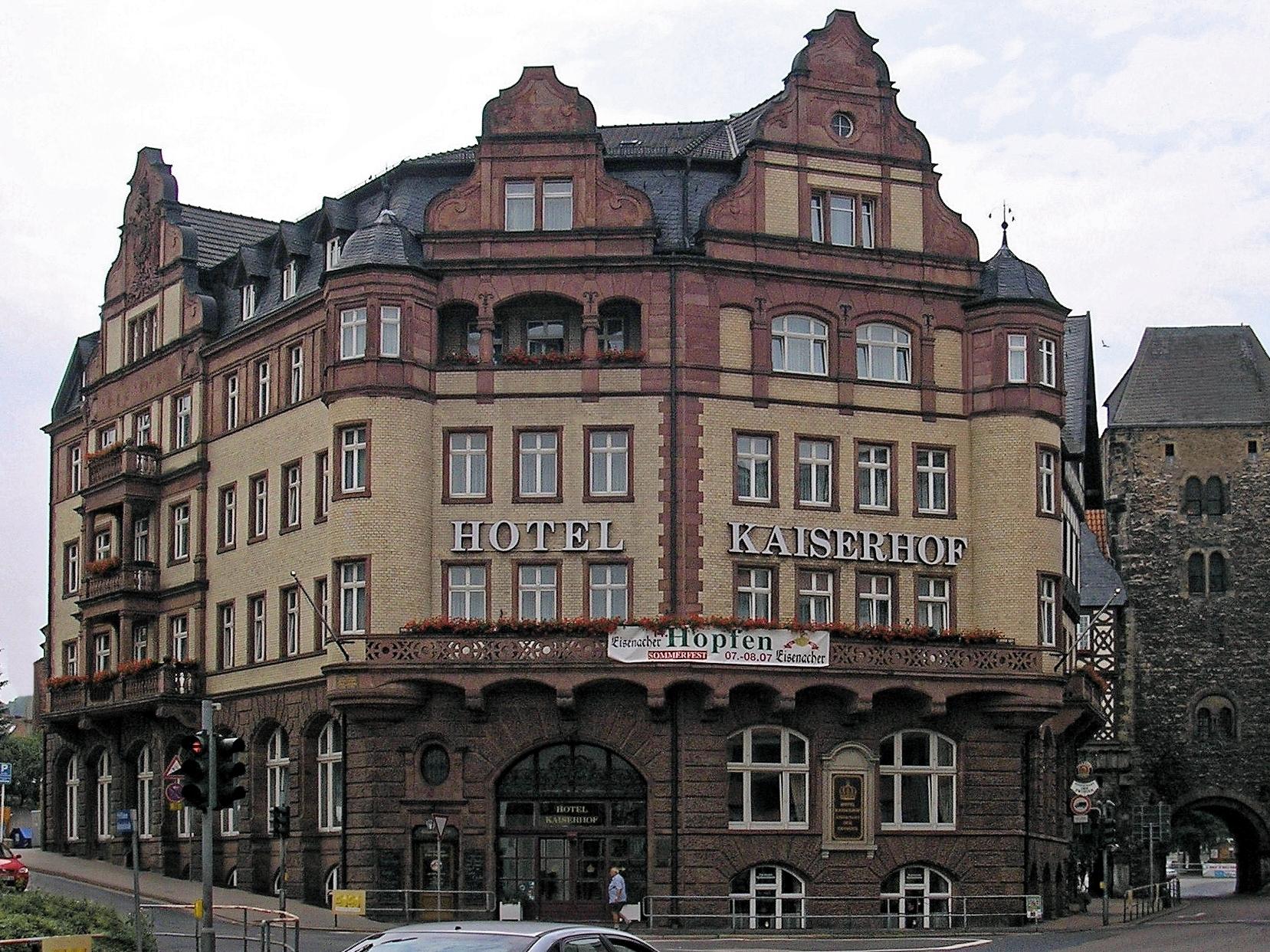 Hotel Kaiserhof Eisenach Wikipedia