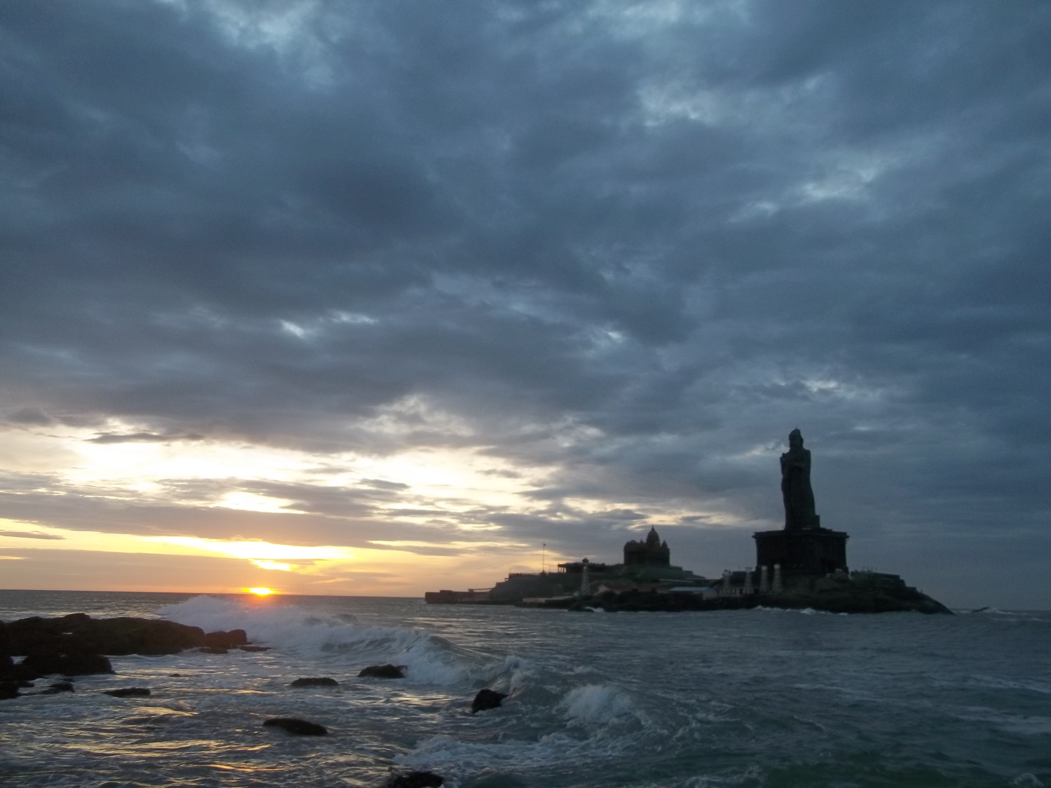 Sunrise in Kanyakumari, Tamil Nadu, India This photograph Flickr Sunrise in kanyakumari pictures