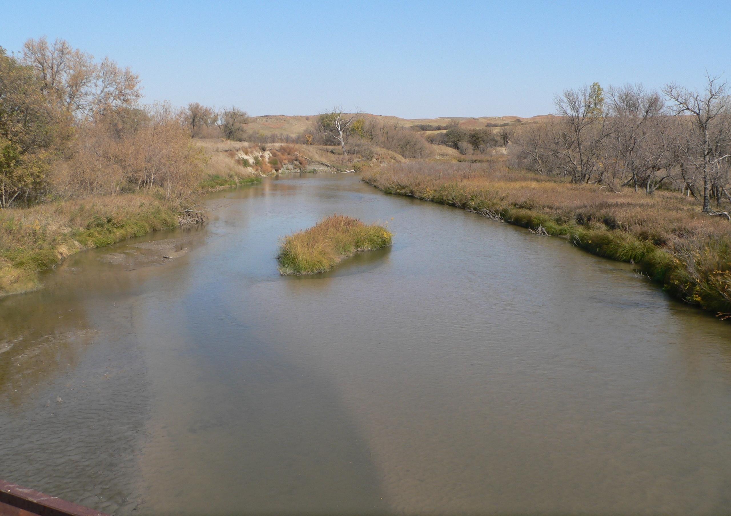 Description Keya Paha River from Lewis Bridge DS.JPG