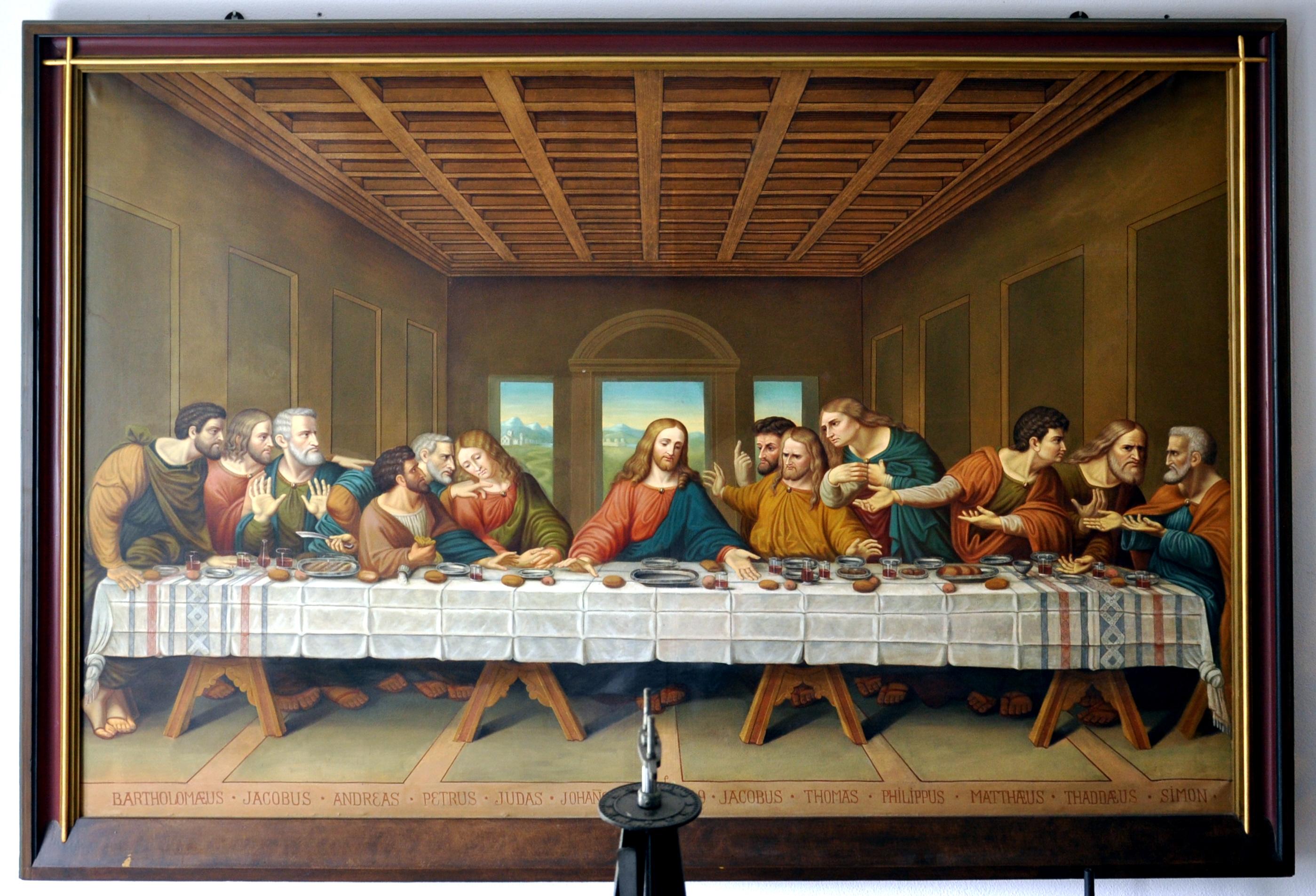 Юбилеем женщине, картинки тайная вечеря вечере высокого разрешения