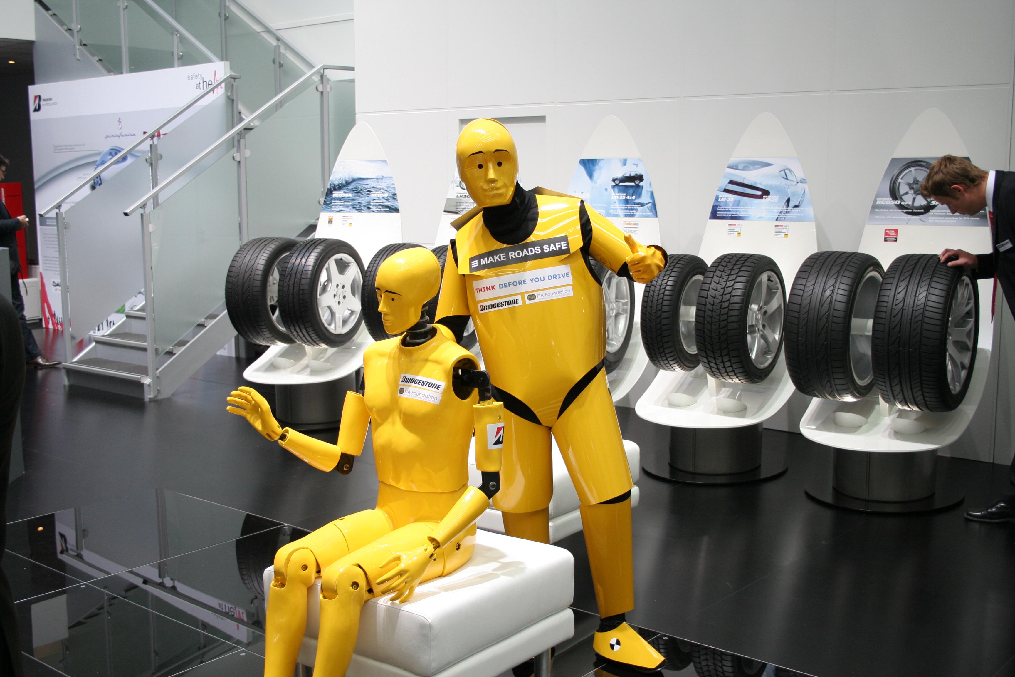 Crash Test Dummies Car Toy