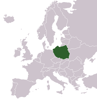 LocationPolandInEurope