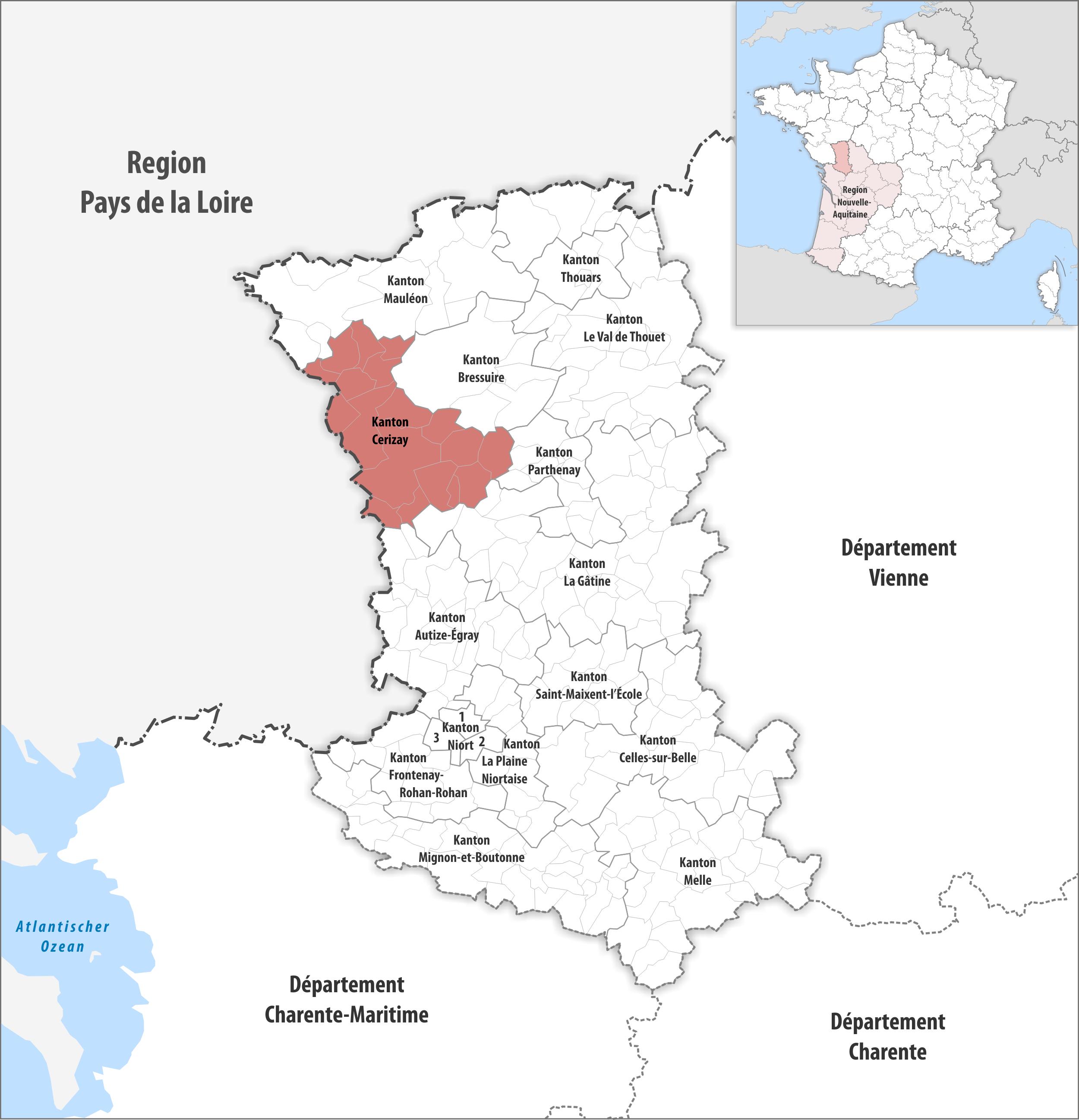 Kanton Cerizay – Wikipedia