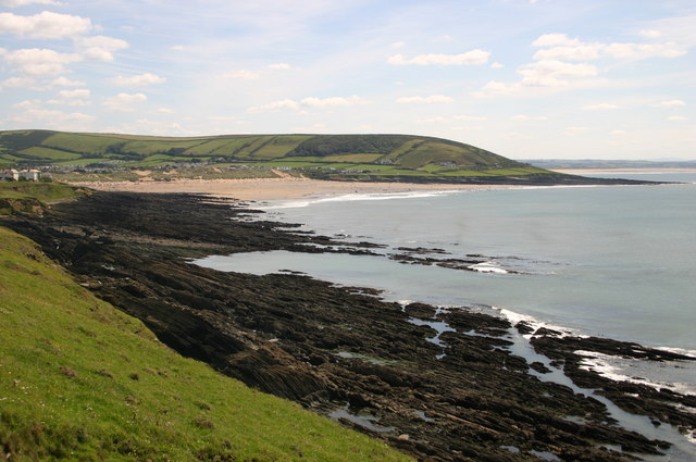Looking across Croyde Bay - geograph.org.uk - 819601