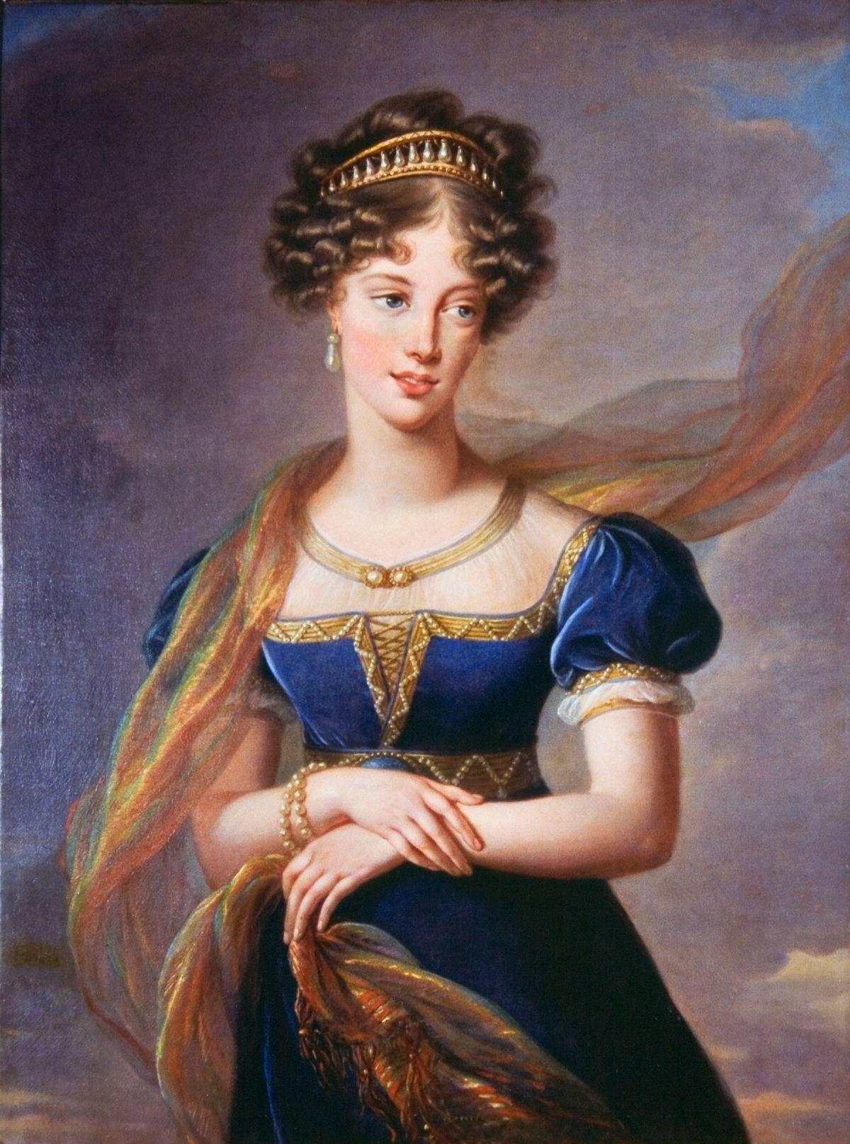 Fichier:Louise-Elisabeth Vigée-Lebrun - La duchesse de Berry en robe de velours bleu.jpg