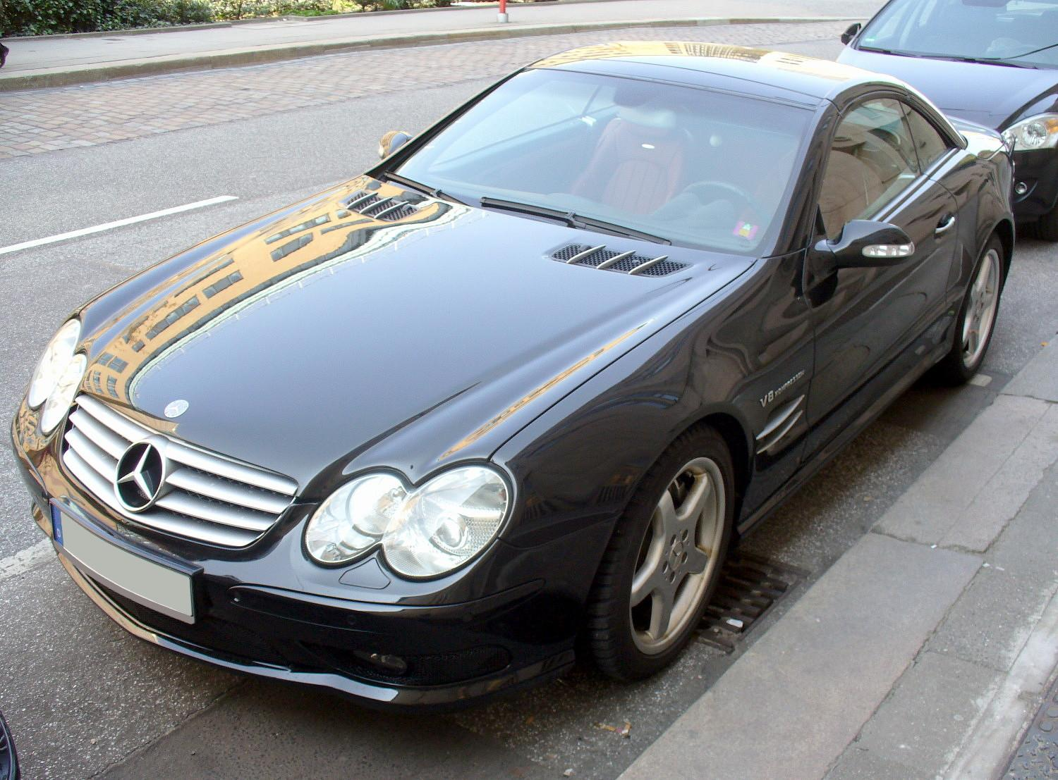 File mercedes benz sl 55 amg jpg wikimedia commons for Mercedes benz sl55 amg