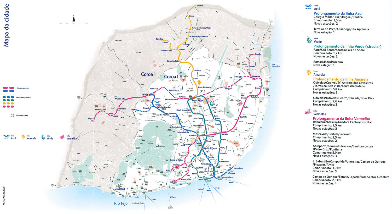 mapa de coroas lisboa File:Metropolitano de Lisboa 2020.   Wikimedia Commons mapa de coroas lisboa
