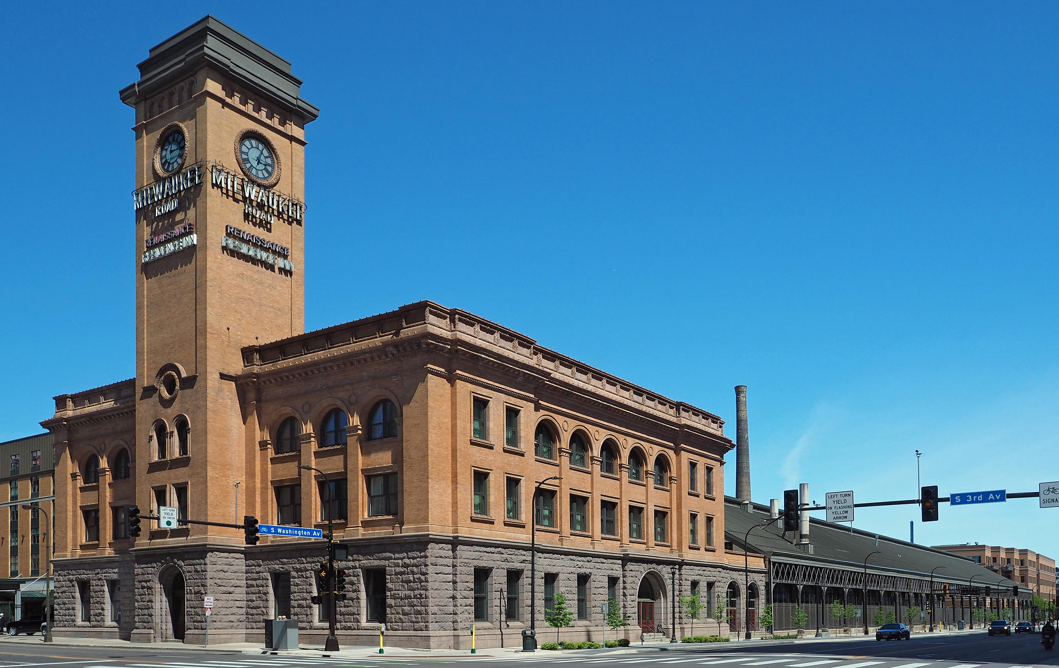 Minneapolis station (Milwaukee Road) - Wikipedia