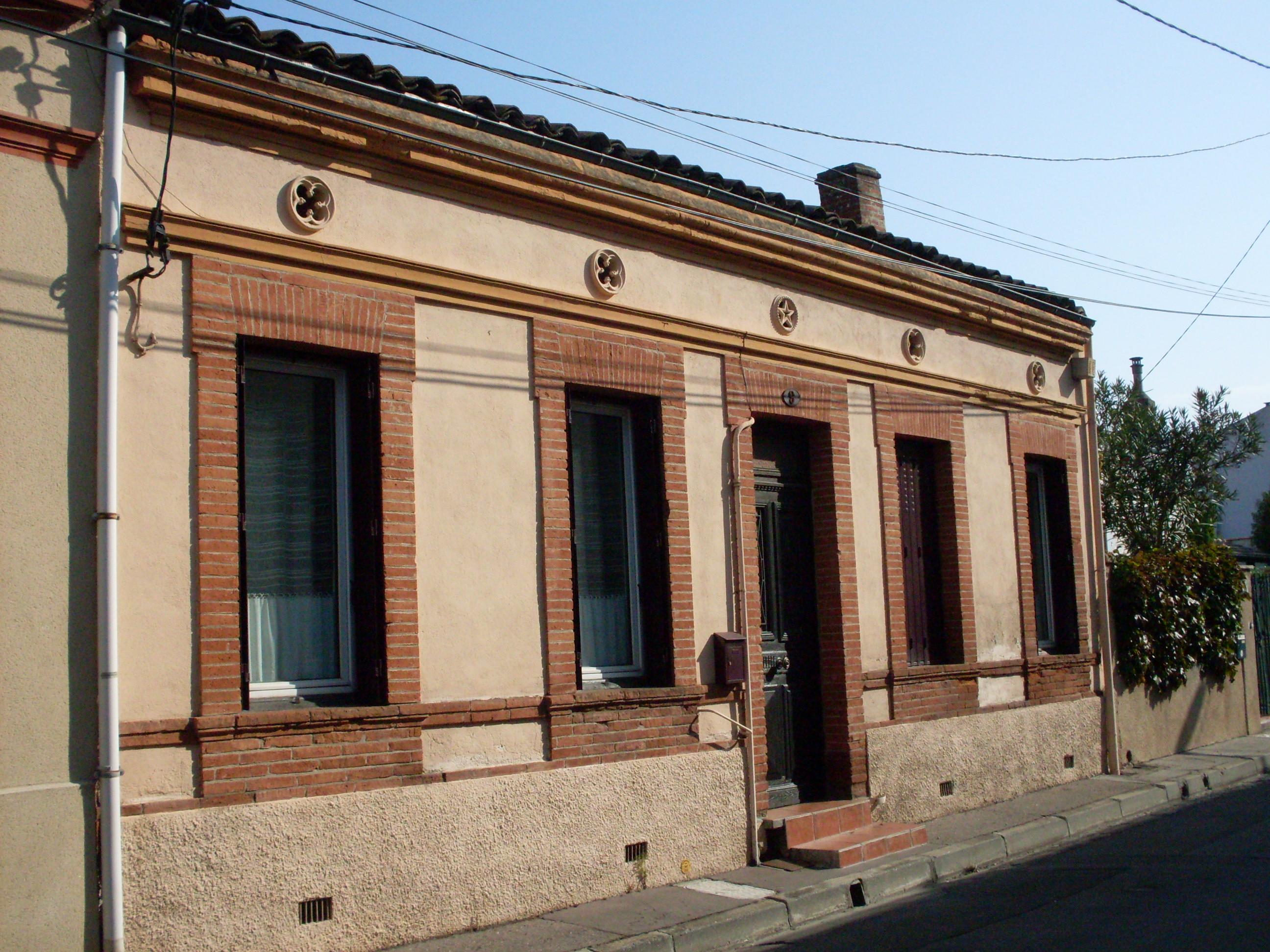 Couleur Façade Maison Ancienne maison toulousaine — wikipédia